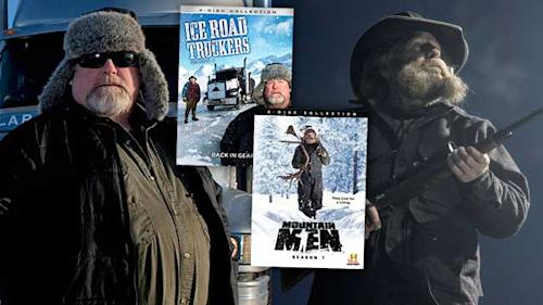 Win 'Mountain Men' and 'Ice Road Truckers' on DVD From Yahoo! TV