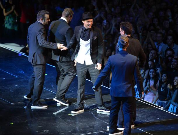'N Sync's Brief VMAs Reunion Is Tearin' Up Fans' Hearts