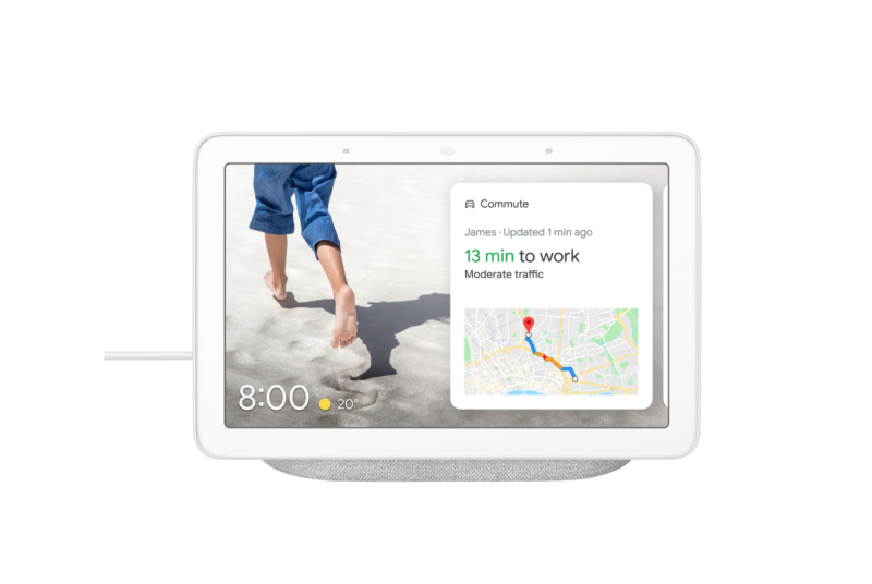 Google Nest Hub with Google Assistant. Image via Best Buy.