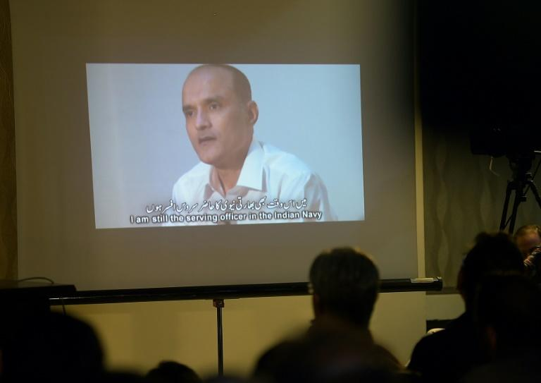 Former Indian naval officer Kulbhushan Sudhir Jadhav was shown on TV after his arrest  in Pakistan on spying charges