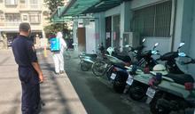 防範疫情 麻豆分局全面消毒、民眾拒戴口罩被移送裁罰