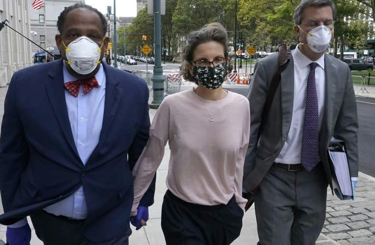 Seagram heiress jailed for bankrolling sex cult