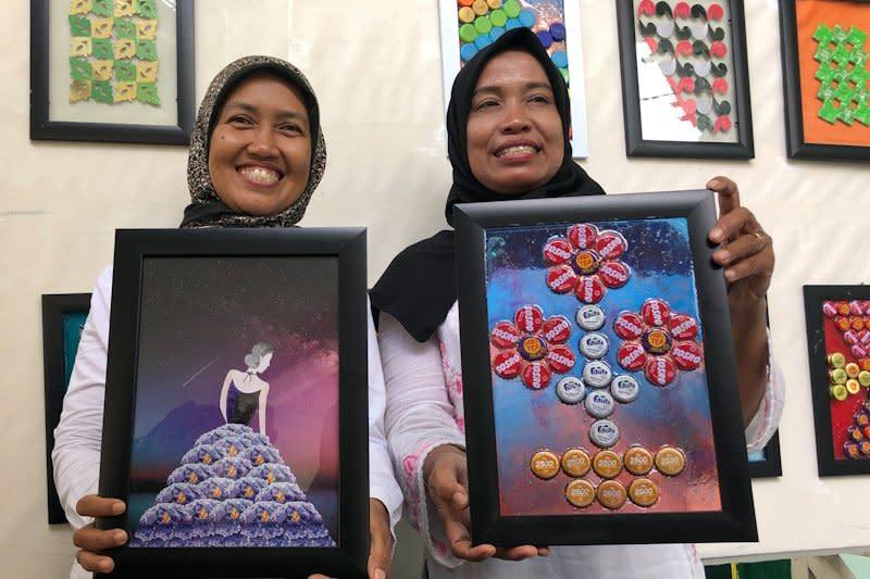 Bank sampah Yogyakarta sulap sampah menjadi barang seni