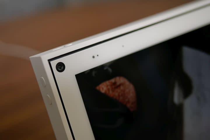 Facebook Portal 10-inch 2019 closeup of camera