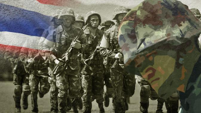Kudeta terjadi lagi di Thailand setelah status darurat diberlakukan. Ini bukan kali pertamanya militer menggulingkan pemerintahan sipil.
