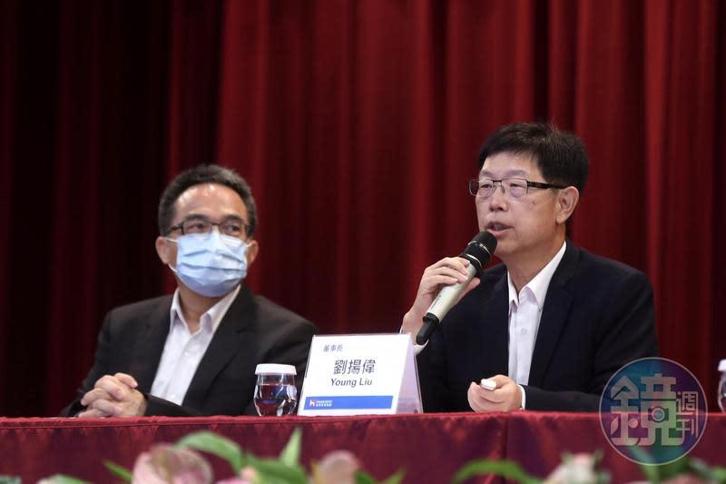 鴻海董事長劉揚偉表示,鴻海目前沒有考慮參與納智捷增資。