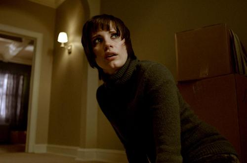 "This film image released by Universal Pictures shows Jessica Chatain in a scene from ""Mama."" (AP Photo/Universal Pictures)"