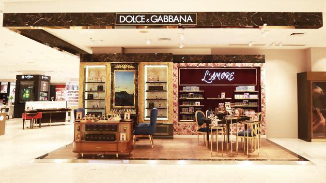 Gerai kecantikan Dolce & Gabbana dengan konsep baru yang berada di Seibu, Grand Indonesia. (dok. Dolce & Gabbana Indonesia)
