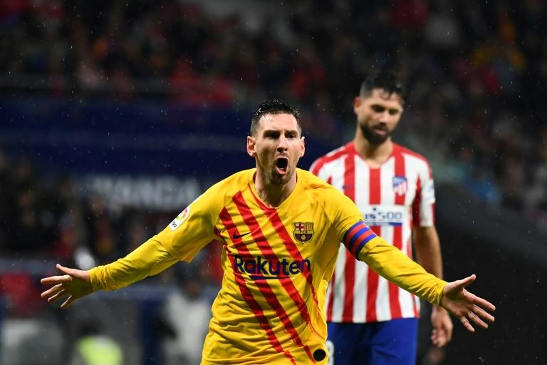 Messi has scored 46 goals for Barcelona and Argentina in 2019