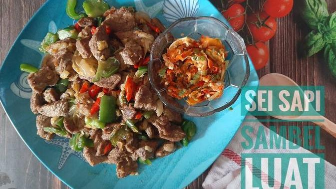 ilustrasi aneka resep sei sapi yang enak dan praktis/cookpad: @Queenza.kitchen