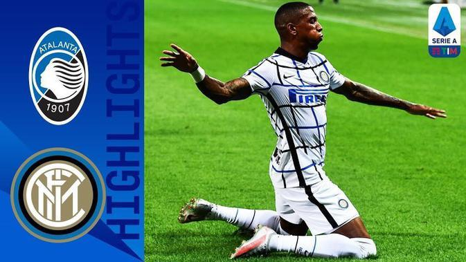 VIDEO: Highlight Serie A, Inter Milan Finish Peringkat Dua Usai Taklukkan Atalanta 2-0