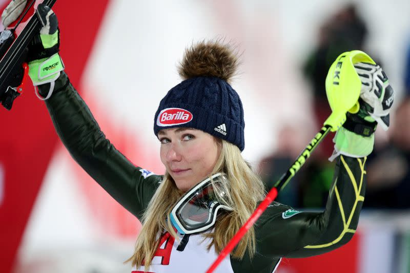 Alpine skiing-Shiffrin to miss World Cup season opener with back issue