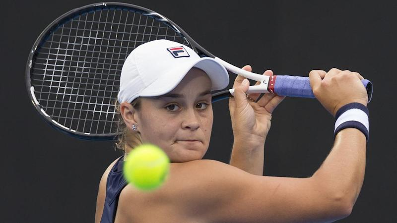 Australian Ashleigh Barty will face Czech Petra Kvitova in the final of the Sydney International