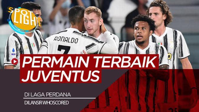 VIDEO: Bukan Cristiano Ronaldo, Inilah Pemain Terbaik Juventus di Laga Perdana Liga Italia