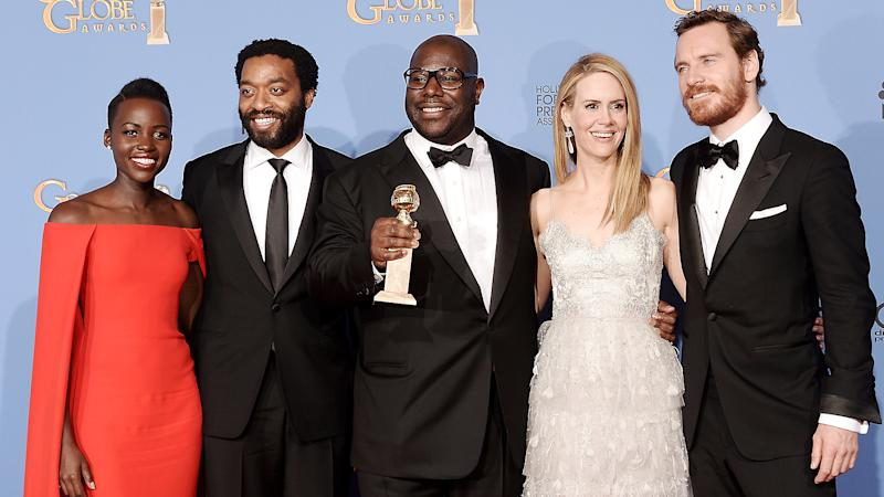 '12 Years a Slave' Team Tearful and Exhilarated by Down-to-the-Wire Globes Win