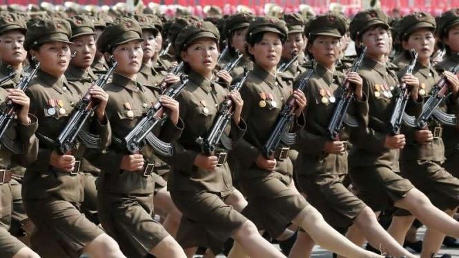 Derita Tentara Wanita Korut Saat Menstruasi Sampai Digilir di Ranjang