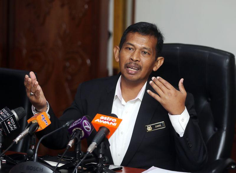 Datuk Zamri Man will be removed as Ipoh mayor for going absent without leave (AWOL), according to a report. — Picture by Farhan Najib