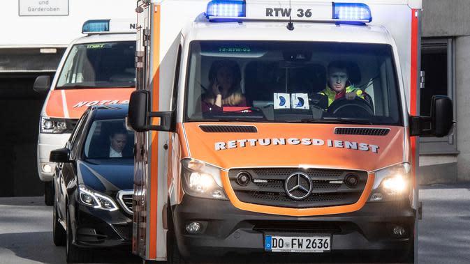 Denda untuk Pengemudi Pemberi Jalan buat Ambulans
