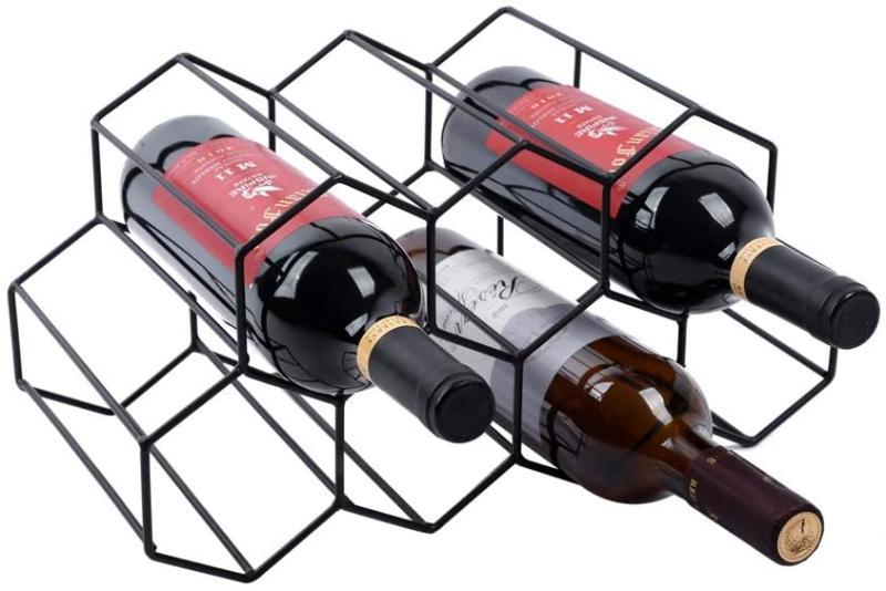 Urban Deco Freestanding Wine Rack (Photo via Amazon)
