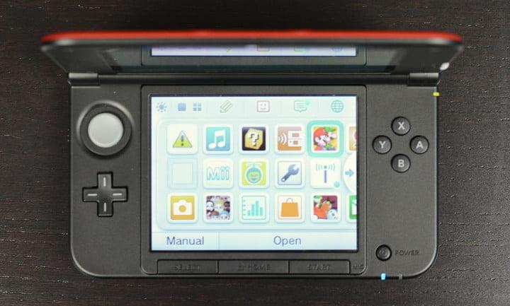 Nintendo 3DS XL Review lower screen buttons handheld gaming system