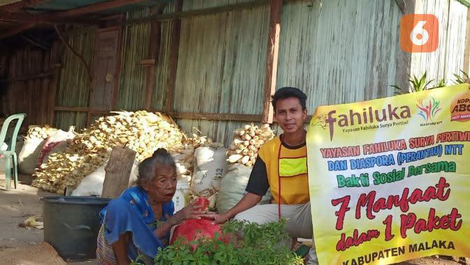 Foto : Potret kemiskinan di Kabupaten Malaka, NTT (Liputan6.com/Ola Keda)