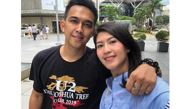 6 Momen Mesra Naga Eks Lyla Bareng Istri, Hamil Setelah 8 Tahun Menikah (sumber: Instagram.com/febyriz)