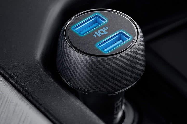 portable tech gadgets - Anker car charger
