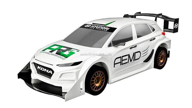 Hyundai Kona Listrik Versi Rally Punya Tenaga Badak