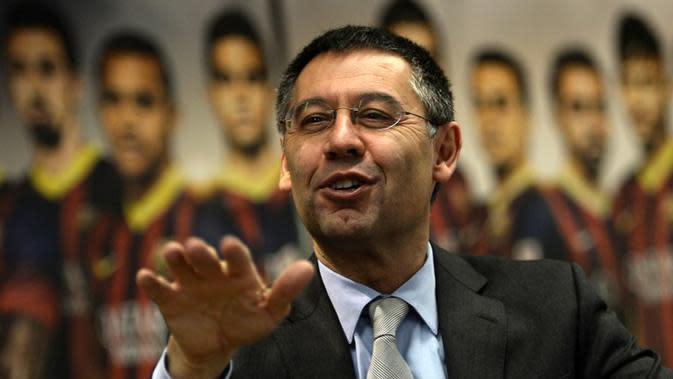 Josep Maria Bartomeu (LLUIS GENE / AFP)