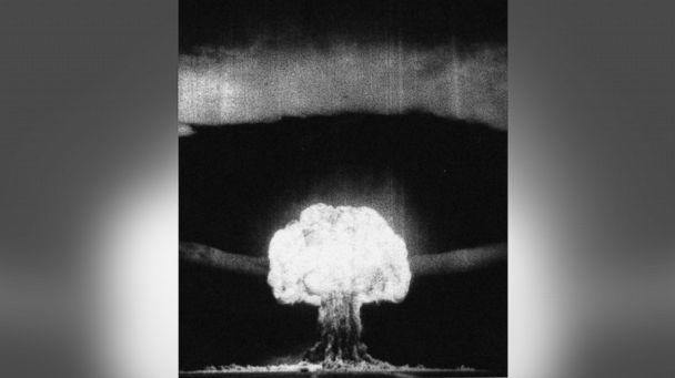 PHOTO: The RDS-6s device, the first Soviet test of a thermonuclear weapon (called Joe 4) on Aug. 12, 1953. (Heritage Images/Getty Images)