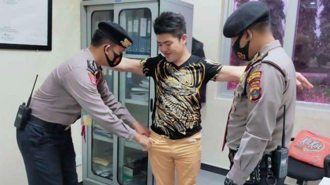 Rano Karno Ditangkap di Bandara Kualanamu karena Bawa Sabu