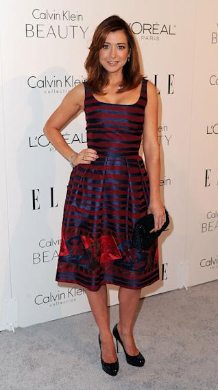 Elle's 17th annual Women in Hollywood Tribute 2010 Alyson Hannigan