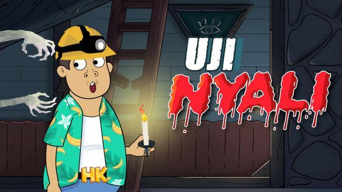 Yuk, Nonton Serial Animasi Om Perlente Episode Uji Nyali di Vidio
