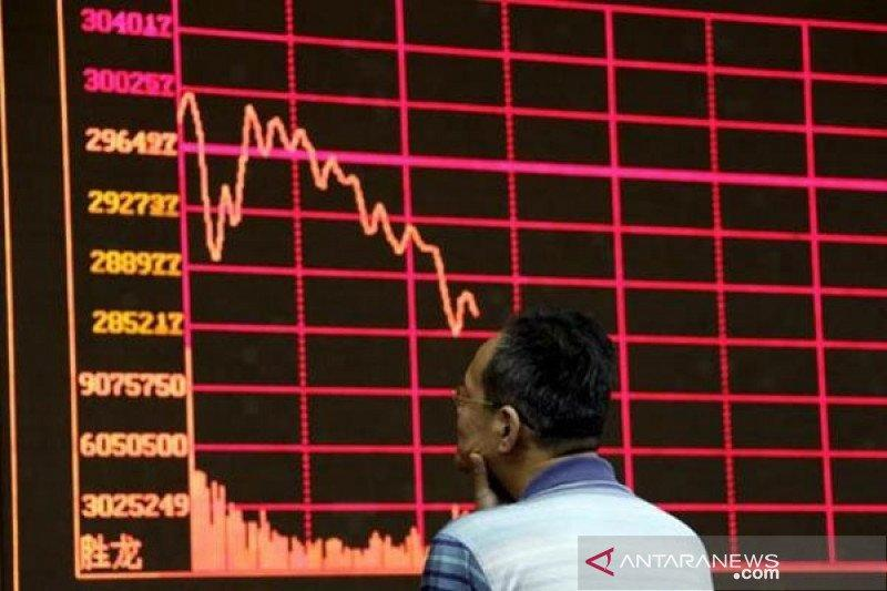Bursa saham China melemah, tertekan dampak ekonomi akibat Corona