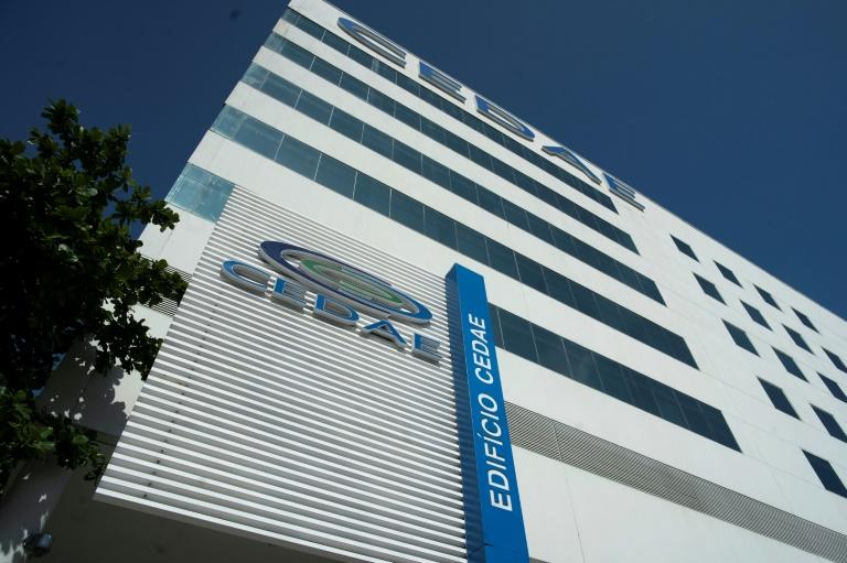 General view of the headquarters of the Rio de Janeiro State Company for Water and Sewage (CEDAE) in Rio de Janeiro, which has been hit by complaints first of stinky tap water and then detergent in the water