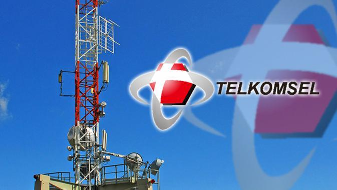 Ilustrasi BTS Telkomsel (Liputan6.com/Sangaji)