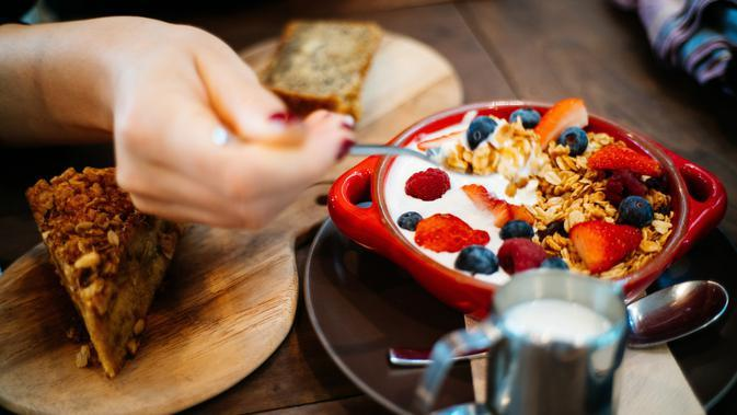 ilustrasi sarapan membuat berat badan naik/pexels