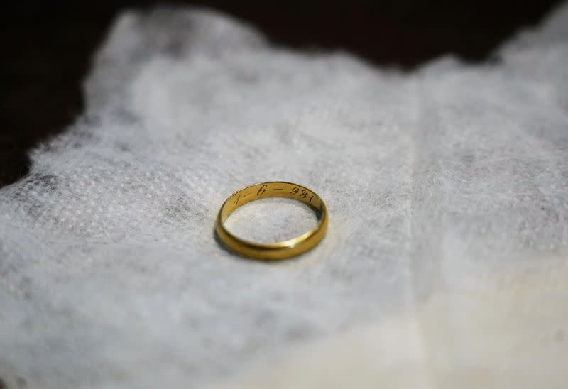 Ring found in mass grave brings closure to Spanish civil war victim's family