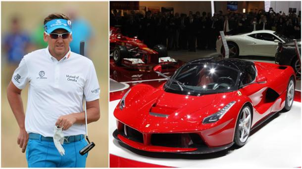 Ian Poulter buys exclusive $1.7 million Ferrari LaFerrari