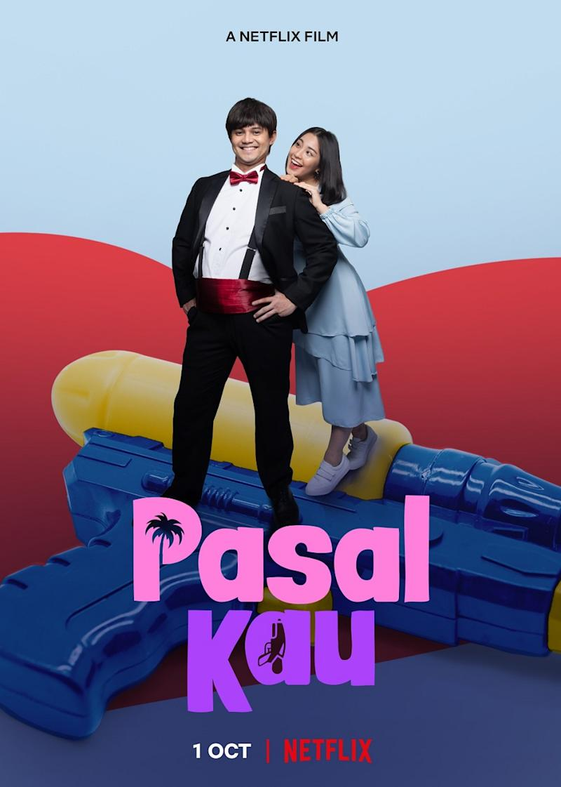 'Pasal Kau!' is Netflix's first Malaysian original film starring Janna Nick and Hairul Azreen. ― Picture courtesy of Netflix