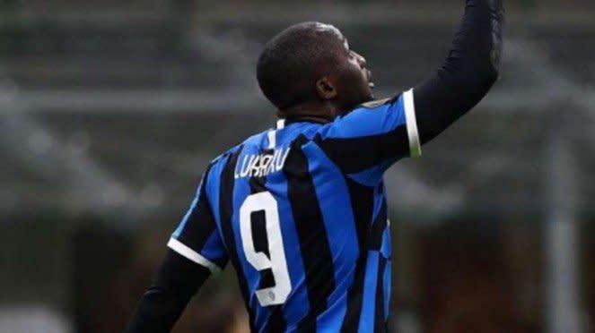 Bomber Inter Milan, Romelu Lukaku.
