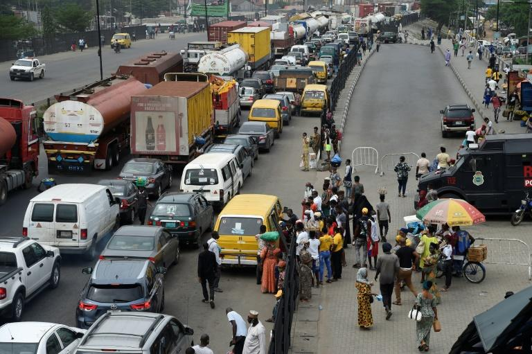 Gridlock once more: After weeks of eerie calm, Lagos streets began to fill with traffic again