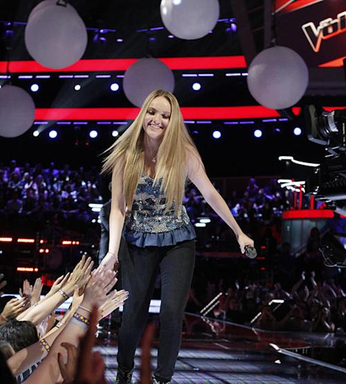 Exclusive Video: On the Scene at the Season 4 'Voice' Finale