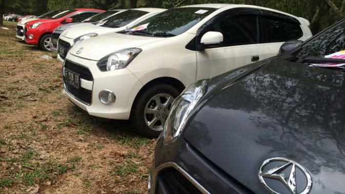 PT Astra Daihatsu Motor (ADM) menggelar PestaRia Ayla bertajuk family fun gathering di Taman Lalu Lintas Saka Bhayangkara, Cibubur.