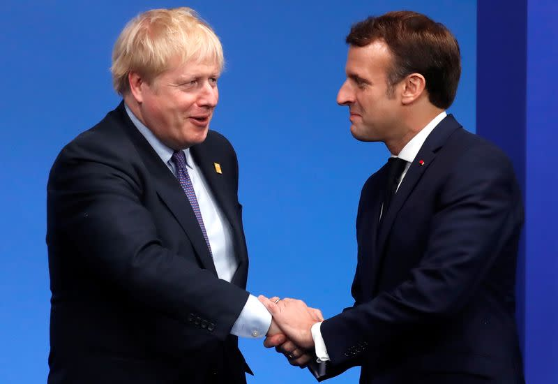 Johnson, Macron to honour French Resistance fighters in London
