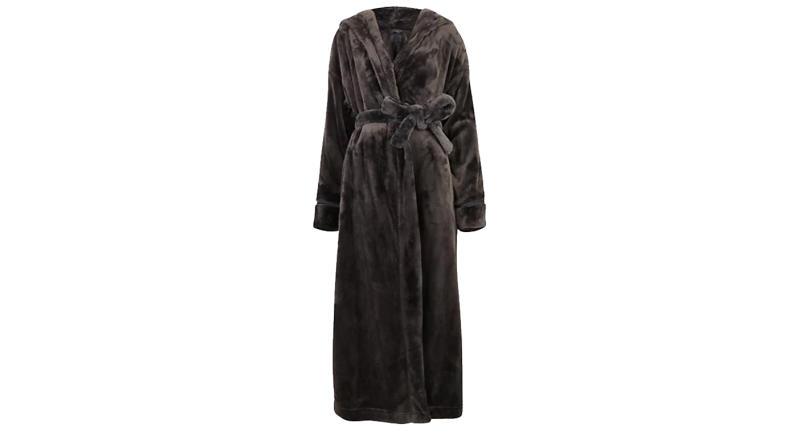 Fleece Long Dressing Gown