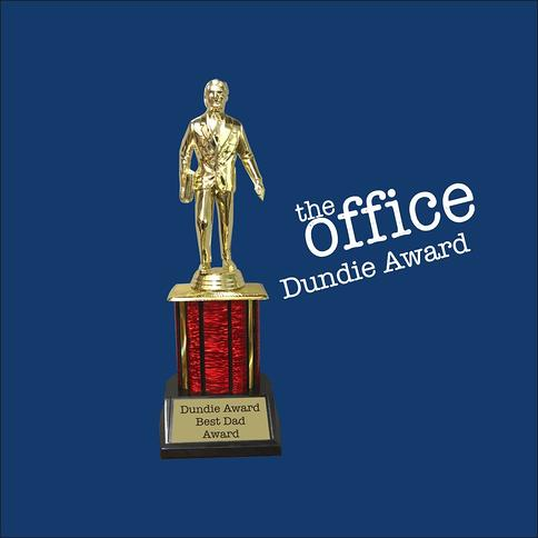 Free Engraving Salesman Trophy Promising Assistant Manager Dundie Award Trophy The Office TV Show