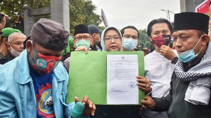 Bupati Bogor Kirim Surat Aspirasi Penolakan UU Cipta Kerja ke Jokowi dan DPR