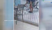 翁供水站取水順便洗腳 挨批浪費資源