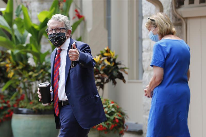 Virus Outbreak Ohio Governor